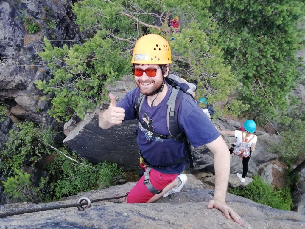 Klettersteig Gruppe